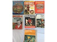 7 football Annual's from 1958 to 1971