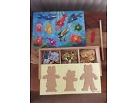Two Lovely Melissa and Doug Wooden Puzzles £6 Together