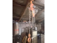 Sealey Viking 3 ton engine hoist Lever Hoist chain hoist HL3000 good working order