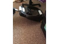 Maxi cosi car seat base and car seat will sell separate