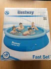 For Sale - Brand New Bestway 8 Foot Fast Set Swimming Pool