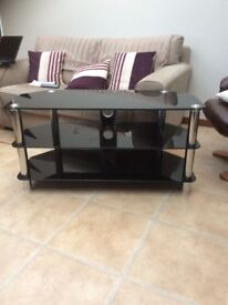 Television Cabinet/stand , glass.