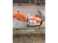 Stihl saw TS400 petrol stone cutter