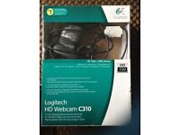Logitech HD Webcam in perfect condition with box.