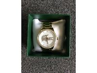 BOXED BRAND NEW LACOSTE WRIST WATCH WITH 2 YEARS INTERNATIONAL WARRANTY RRP £275
