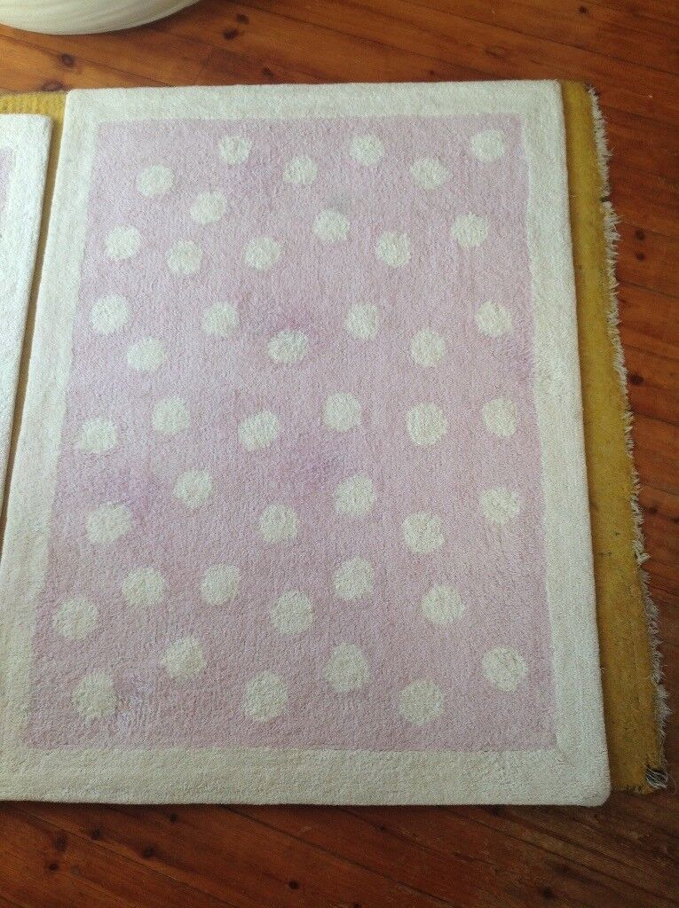 Girls Room Pink Dot Rug In Angus Gumtree