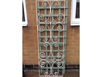 Wrought Iron Door Decor