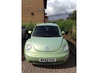 **PRICE DROP** VW BEETLE LOW MILEAGE FROM NEW. 2.00. PETROL. GREAT RUNNER. CLEAN CONDITION.