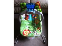 Fisher Price Rainforest Friends Deluxe Bouncer Interactive