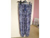 Girls harem trousers
