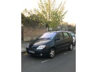 RENAULT SCENIC 2.0/5 SEATER/74K/MANUAL/1 YR MOT