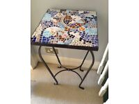 MOSAIC TABLE FOR GARDEN,HALL,BEDROOM ETC IN EXCELLENT CONDITION