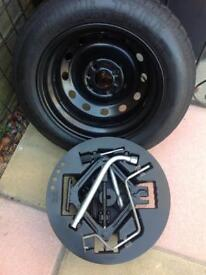 Spare wheel for chryseler psylon