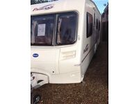Bailey pageant burgundy 2006 4 berth fixed bed
