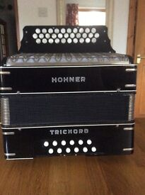 Trichord 111 Hohner button accordion