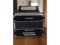 Trichord 111 Hohner button accordion