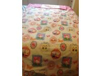 Hello kitty single duvet cover and pillowcase