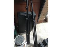 2 x Professional Speaker Stands