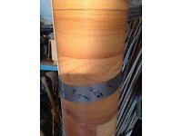 NEW VINYL 9.50m LENGTH BY 2M WIDE wood effect Very nice