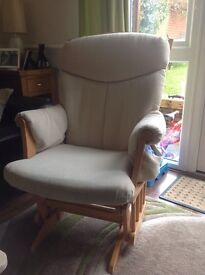 Cream Maternity Chair from John Lewis
