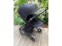 All Black Urbo2 Stroller - May Swap