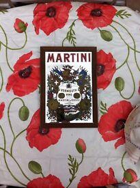 Vintage Martini mirror