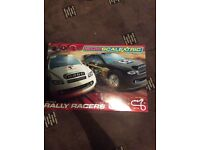 Scalectric rally racers