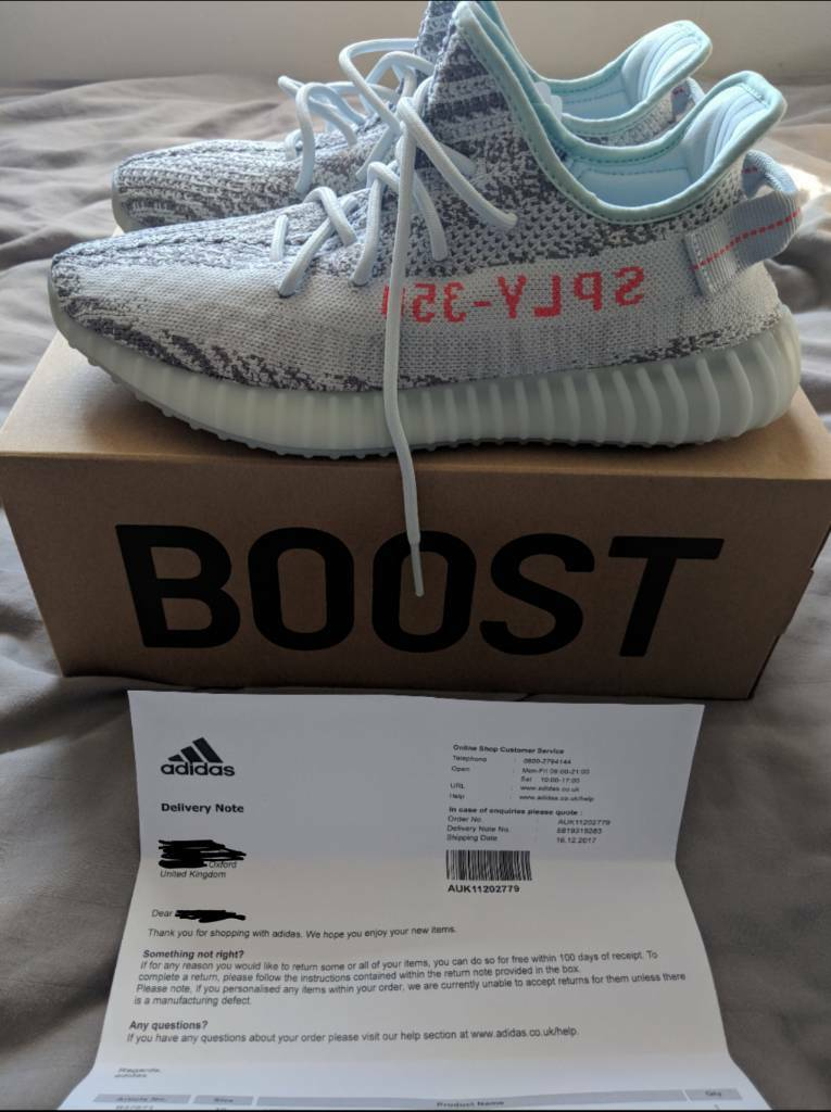ce17ee9f2 Adidas Yeezy Boost 350 V2 Blue-Tint
