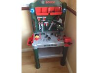 Children's Bosch work bench