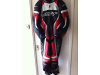 RST tracktec Leathers and RST tracktec boots and RST razor boots