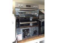 Beko 90cm double fan oven. £240 new/graded 12 month Gtee