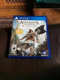 Assassins creed IV Black Flag - PS4 game