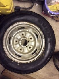 Transit Wheel and Tyre Brand New Event 195/70/15 C Never been used