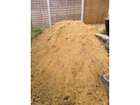 Free Sand/soil mix for immediate collection