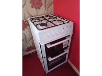 Brand new double cavity oven with gas cooker