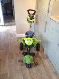 Little Tykes Trike with car sounds in a good condition.