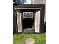 Beautiful replica Victorian fireplace