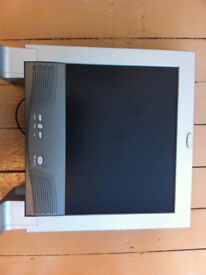 15 inch flat mountable monitor for sale