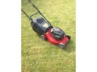 Large Petrol Lawnmower