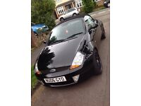 2 seater black convertible - ford street KA