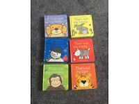 6 baby sensory books