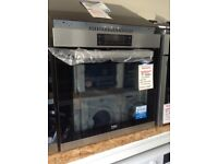 Beko intergrated single multifunction self cleaning oven. £240 RRP £429 new/graded 12 month Gtee