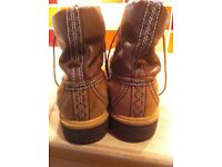 Mens Genuine Timberland boots size 9