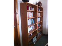 Bookcase - Deep and Adjustable in Perfect Condition