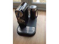 Nespresso CitiZ and Milk by Magimix M195 Coffee Machine - Limousine Black