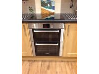 Bosch double oven under housing 2 years old
