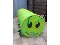 Kids pop up caterpillar play tunnel