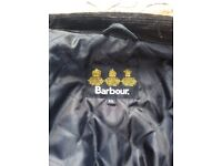 Leather Barbour international