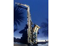 Saxophone alto Corton immaculate as new unwanted gift