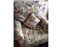 FREE Small 3 piece suite - 2 armchairs and a sofa